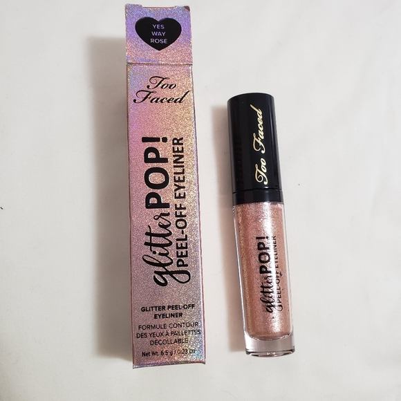 Too Faced Other - Too faced glitter pop peel off eyeliner